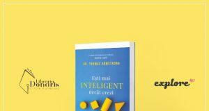 """GIVEAWAY! Câștigă cartea """"Ești mai INTELIGENT decât crezi"""""""