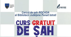 Înscrie-ți copilul la cursul gratuit organizat de Cercul de șah Rocada