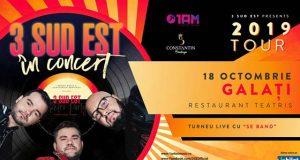 3 Sud Est în concert @Teatris / Galati