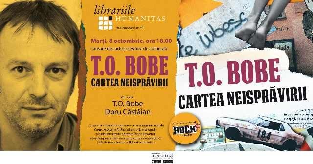 T.O. Bobe în dialog cu Doru Căstăian despre Cartea neisprăvirii