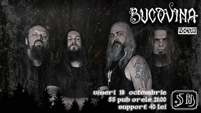 Concert LIVE! Bucovina revine în Galați, la 55 pub!