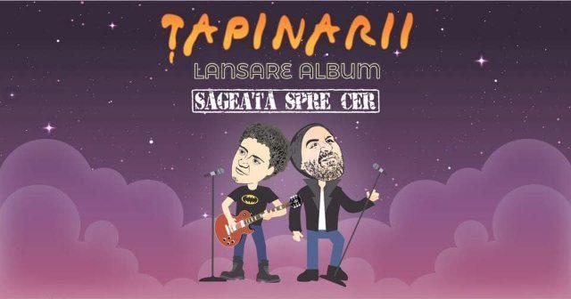 Țapinarii vin în Galați - Lansare album