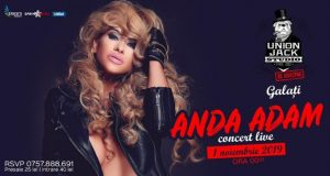 Concert Live - Anda Adam vine la Union Jack Studio