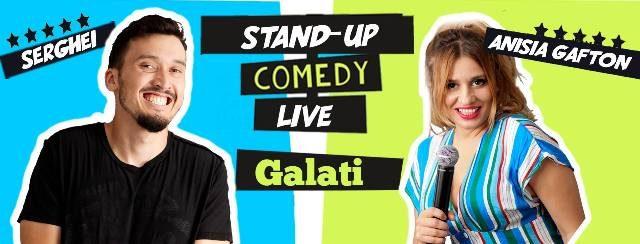 Anisia Gafton și Serghei - un super show de Stand Up Comedy la 55 Pub