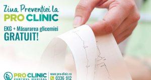 EKG + Măsurarea glicemiei gratuit
