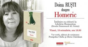 Eveniment special la Librăria Humanitas cu Doina Ruști