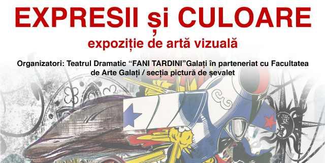"""Expoziția Expresii și Culoare la Teatrul Dramatic """"Fani Tardini"""""""
