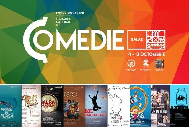 Atenție, începe Festivalul Național de Comedie de la Galați!!