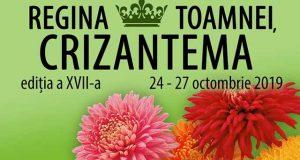 Regina Toamnei, Crizantema - expoziție tradițională cu vânzare la Galați