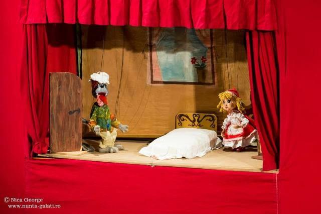Scufița Roșie - un spectacol inedit și interactiv pentru cei mici