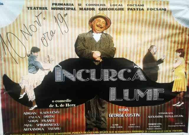 Încurcă lume - Teatrul Focșani