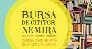 """""""Bursa de cititor Nemira"""" oferă cărți gratuite elevilor pasionați de lectură"""