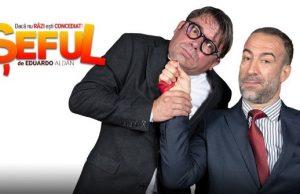 Comedia ȘEFUL Șerban Cristi