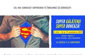 SUPER gălățenii SUPER donează