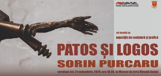 """Vernisajul sculptură ,,Patos şi Logos"""""""
