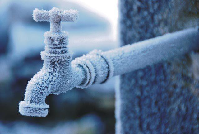 Protejați-vă instalația de alimentare cu apă împotriva înghețului!
