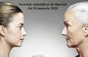 Workshop secretele sănătății, tinereții