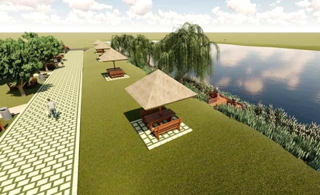 Zona de agrement de la Balta Zătun va primi finanţare europeană