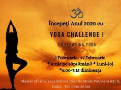 Rise & Shine Yoga Challenge. 4 săptămâni la Master of Flow Yoga School