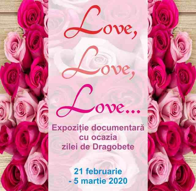 Love, love, love... - expoziție Dragobete