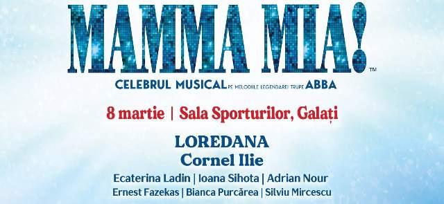 Musicalul Mamma Mia 8 martie