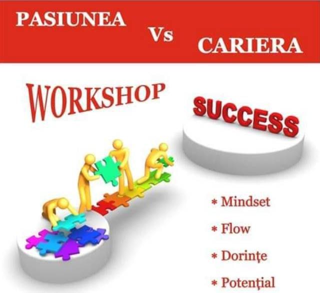Pasiunea și cariera - workshop