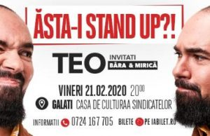 """Stand Up Comedy """"Ăsta-i stand up!"""""""