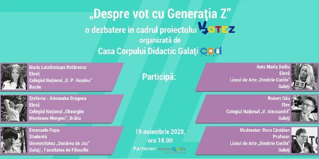 Despre vot cu generaţia Z
