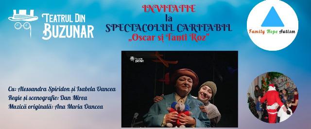 Oscar şi Tanti Roz Spectacol cu scoOscar şi Tanti Roz Spectacol cu scop caritabilp caritabil