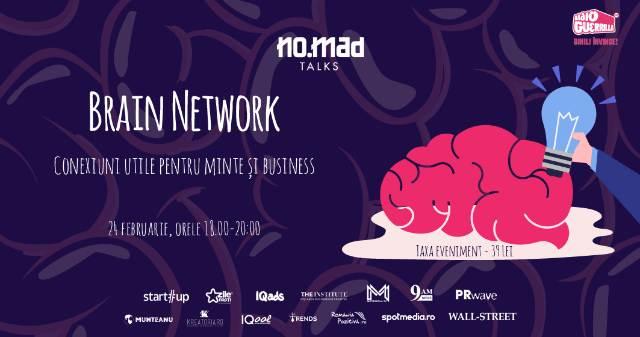 NO.MAD Talks business la Brain Network