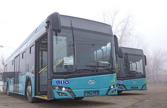 Primele autobuze hibrid Galați