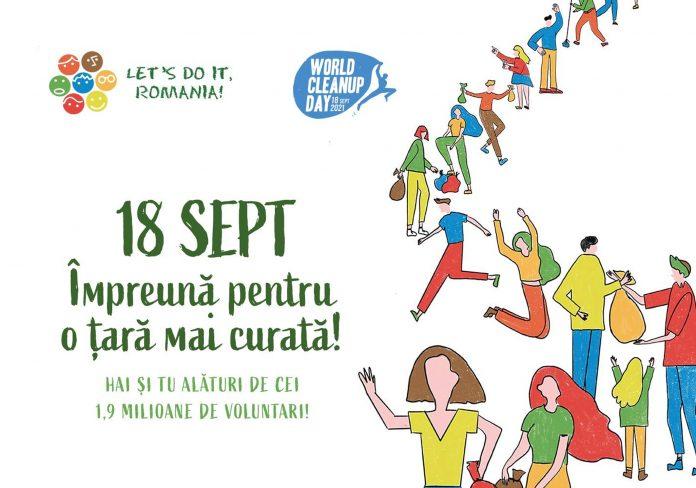 Let`s do it, Romania! Pe 18 septembrie hai și tu la ecologizare în Galați!